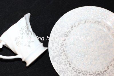 画像2: 白磁用転写紙 NEWアラベスク メタリックグレー