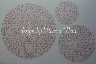 画像4: mosaic circle (モザイクサークル) 円形 ピンク系