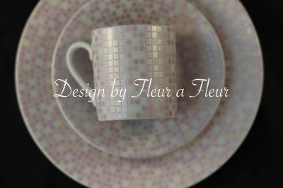 画像1: mosaic(モザイク) 全面 ピンク系