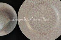 (週末セール限定半額転写紙!!)mosaic circle (モザイクサークル) 円形 ピンク系