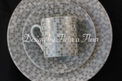 画像1: mosaic(モザイク) 全面 グレー系