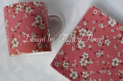 画像1: Chic flower ピンク